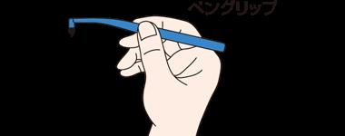 ペングリップ(鉛筆の持ち方)